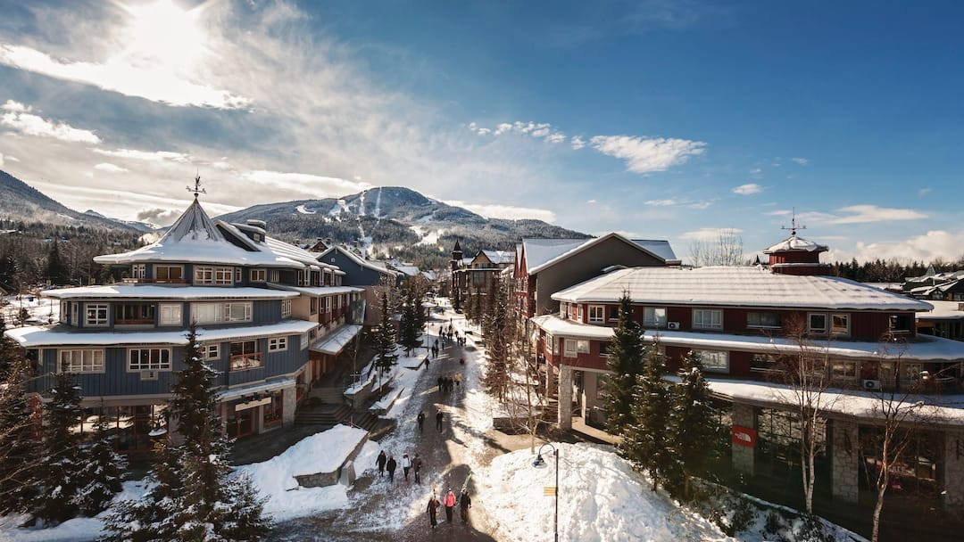 how to get from whistler ski resort to walmart