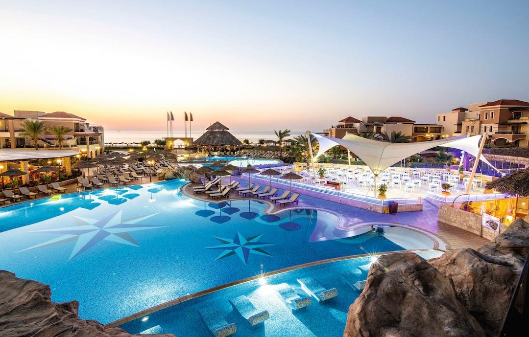 Holiday to Tui Sensatori Resort Atlantica Caldera Palace in LYTTOS BEACH (GREECE) for 4 nights (AI) departing from birmingham on 10 May
