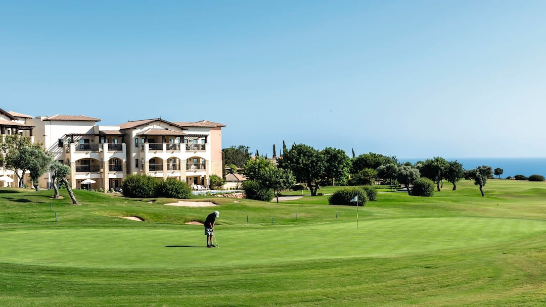 Golf course in Aphrodite Hills, Cyprus Resort
