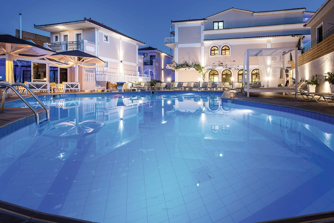 Holiday to Tzante Hotel in LAGANAS (GREECE) for 4 nights (RO) departing from gatwick on 27 Sep