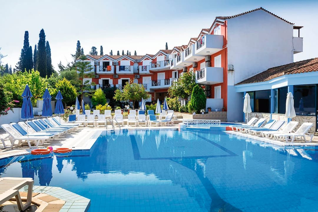 Holiday to Avra Studios in ALYKES (GREECE) for 4 nights (SC) departing from gatwick on 11 Oct
