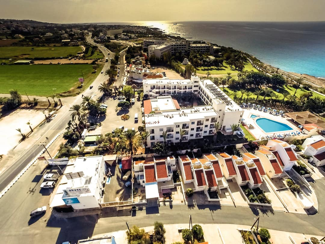 Holiday to Helios Bay Hotel in PAPHOS (CYPRUS) for 3 nights (SC) departing from birmingham on 28 Apr