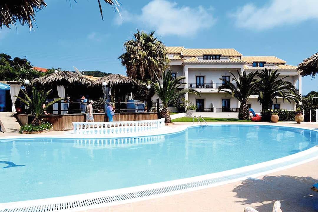 Holiday to Teresa Hotel in SAN STEFANOS (GREECE) for 3 nights (BB) departing from bournemouth on 08 May