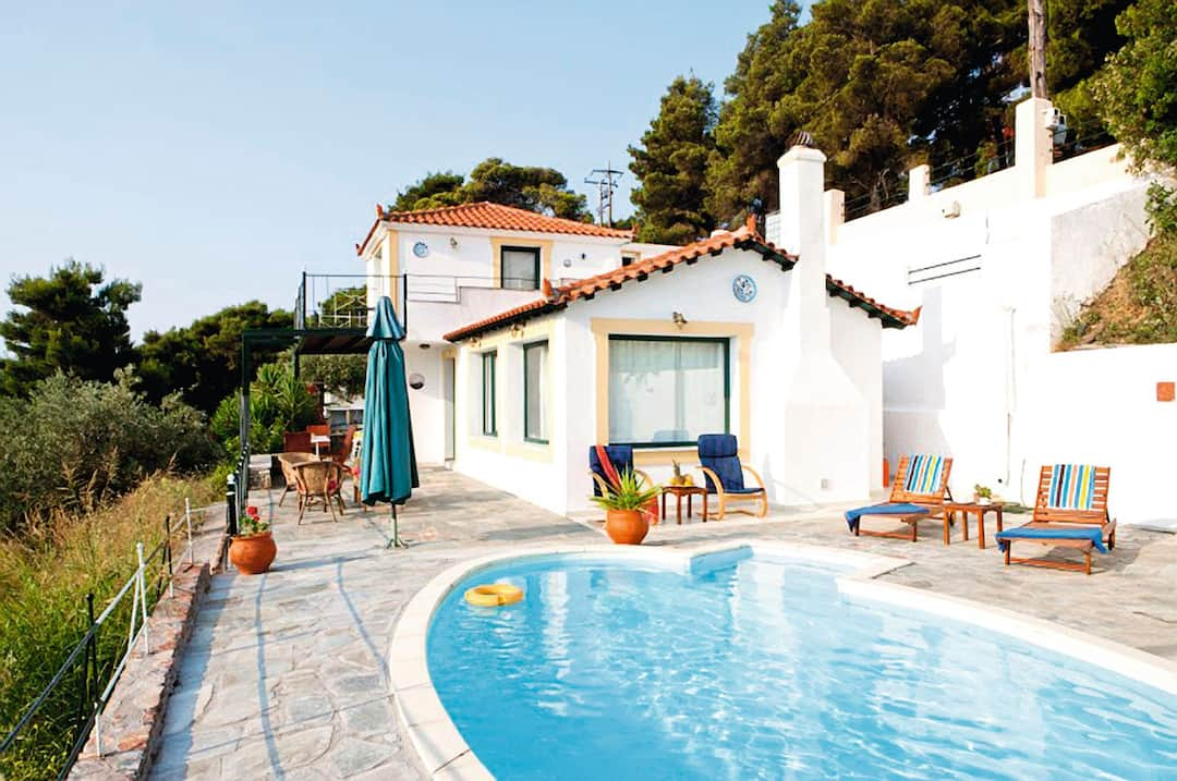 Holiday to Margarita Villa in SKOPELOS - PEFKIAS (GREECE) for 7 nights (SC) departing from birmingham on 17 May
