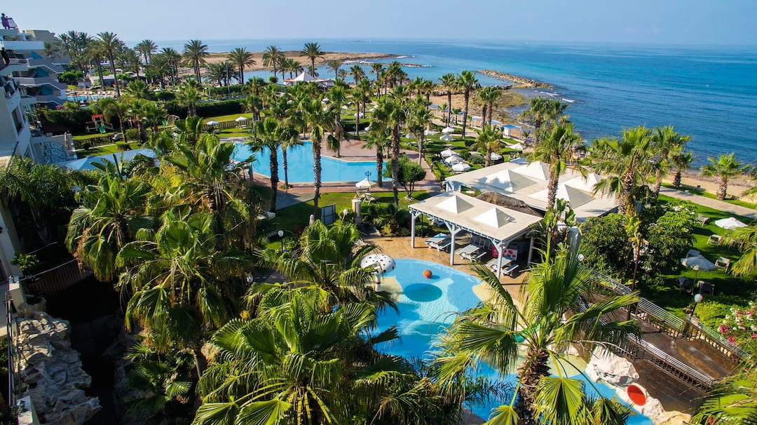 Holiday to Aquamare Beach Hotel And Spa in PAPHOS (CYPRUS) for 3 nights (HB) departing from gatwick on 08 Dec