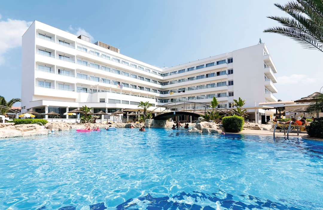 Holiday to Tasia Maris Beach Hotel & Spa in NISSI BEACH (CYPRUS) for 3 nights (HB) departing from birmingham on 16 May