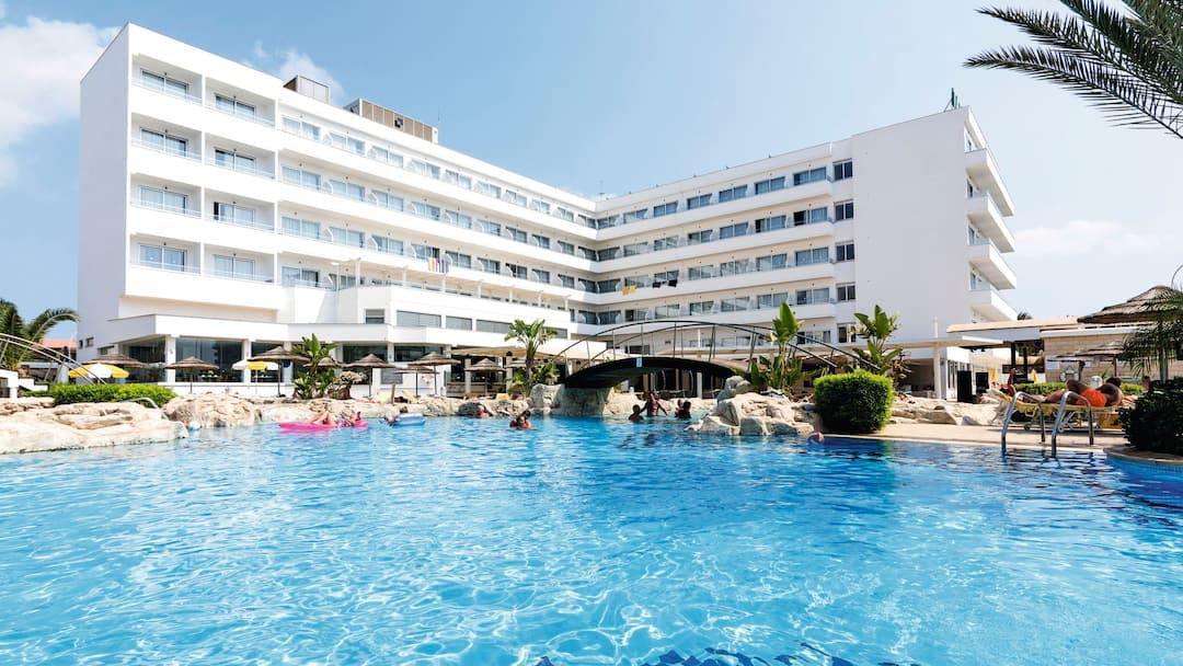 Holiday to Tasia Maris Beach Hotel & Spa - Ai in NISSI BEACH (CYPRUS) for 3 nights (AI) departing from birmingham on 16 May
