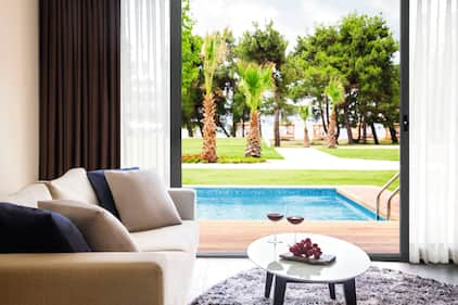 Room and Pool view