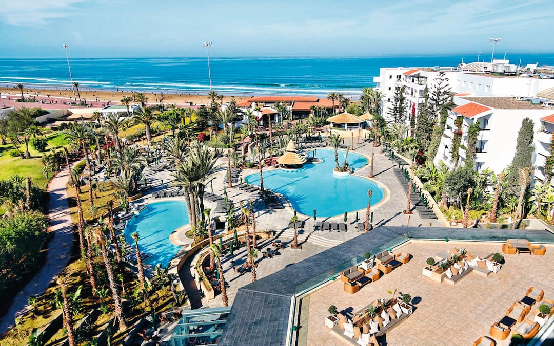 Holiday to Riu Tikida Beach Hotel in AGADIR (MOROCCO) for 7 nights (AI) departing from birmingham on 04 Jun