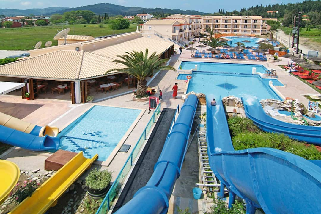 Holiday to Sidari Water Park Hotel in SIDARI (GREECE) for 3 nights (HB) departing from bristol on 07 May