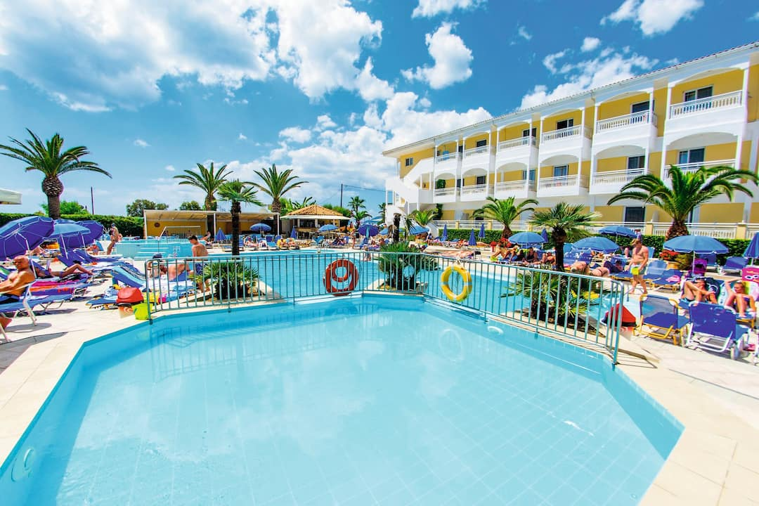 Holiday to Poseidon Beach Hotel in LAGANAS (GREECE) for 3 nights (AI) departing from bristol on 14 May