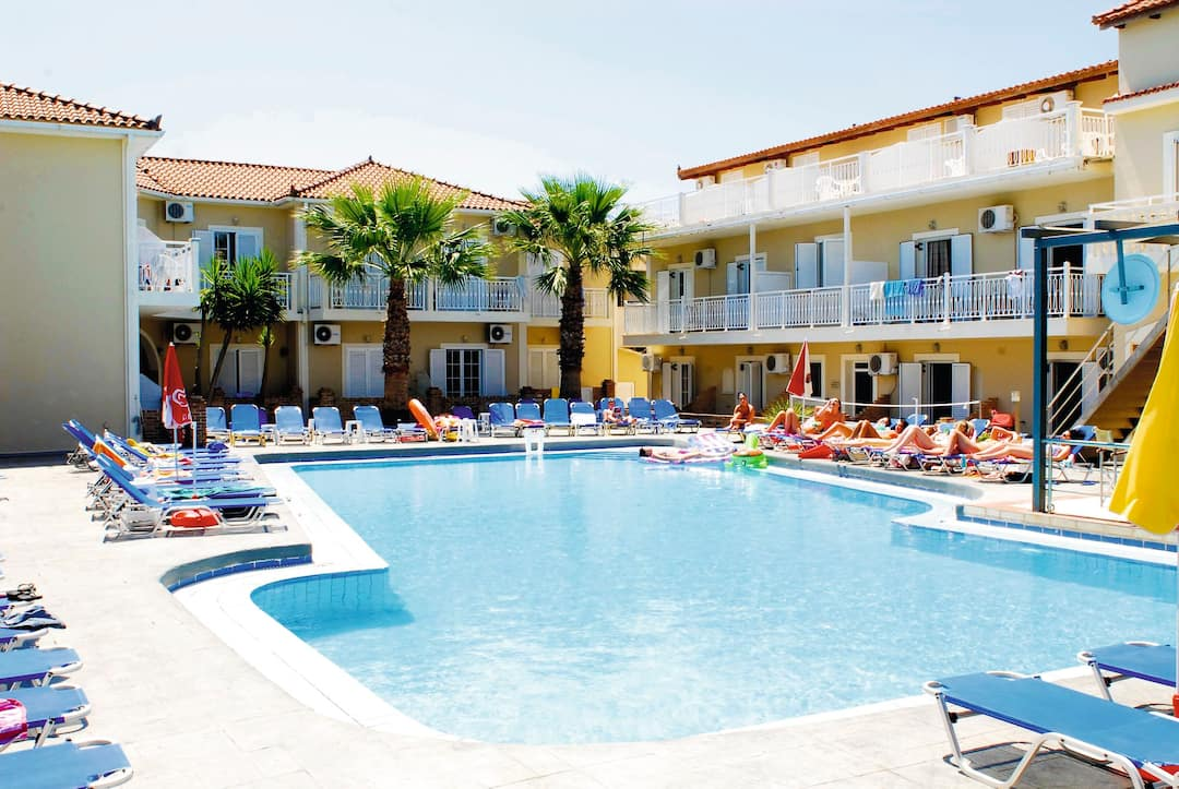 Holiday to Bozikis Hotel in LAGANAS (GREECE) for 3 nights (SC) departing from east midlands on 14 May