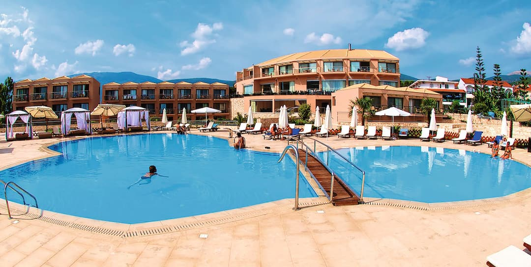 Holiday to Ionian Emerald Resort in KARAVOMILOS (GREECE) for 3 nights (BB) departing from birmingham on 26 Aug
