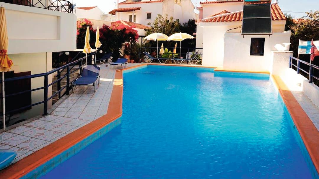 Holiday to Lambros Hotel & Apartments in KOKKARI (GREECE) for 7 nights (BB) departing from gatwick on 13 Jun