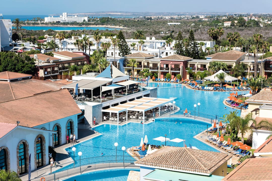 Holiday to Tui Family Life Atlantica Aeneas Resort & Spa in NISSI BEACH (CYPRUS) for 4 nights (AI) departing from gatwick on 25 Mar