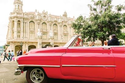 Havana Highlights In Classic Cars