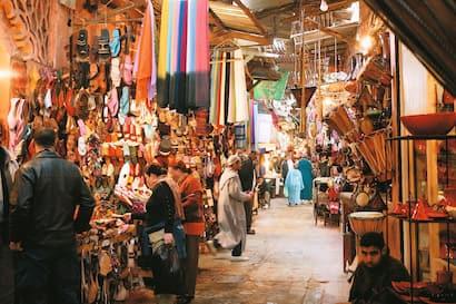 Kasbat Souss & Souk Shopping