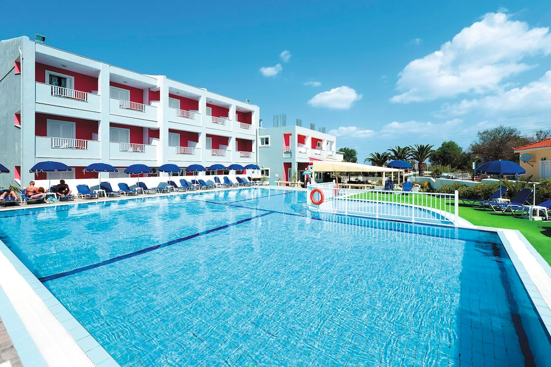 Holiday to Jimmy Aparts (Dados Hotel Annex) in LAGANAS (GREECE) for 5 nights (SC) departing from bristol on 24 Sep