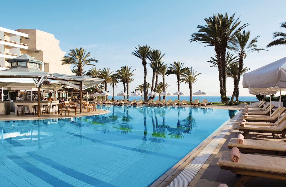Holiday to Sensimar Pioneer Beach Hotel in PAPHOS (CYPRUS) for 3 nights (HB) departing from gatwick on 08 Dec