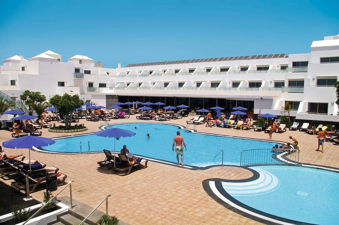 Holiday to Lanzarote Village Hotel in PLAYA DE LOS POCILLOS (SPAIN) for 3 nights (HB) departing from birmingham on 28 Mar