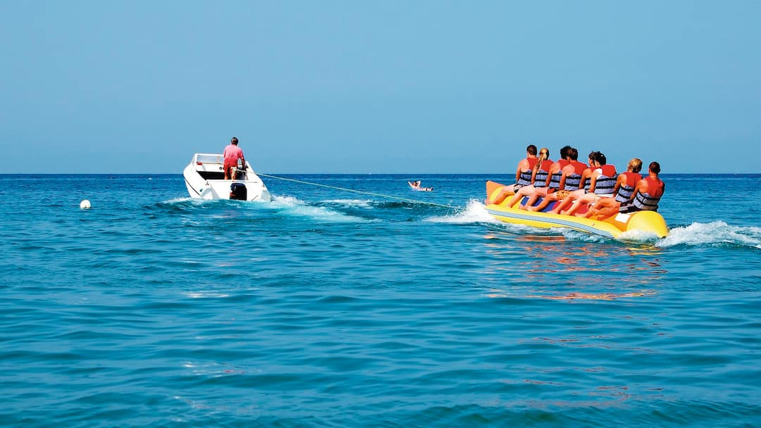 Try The Watersports On C Bay S Beach