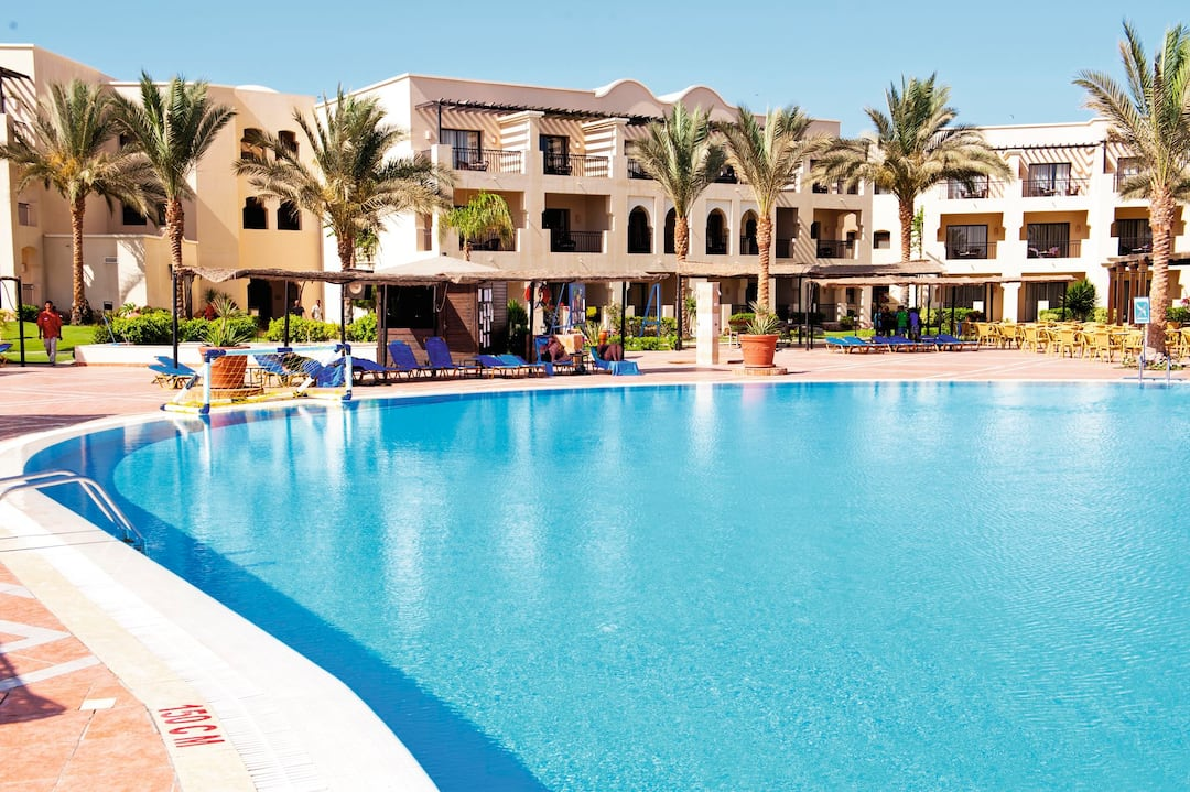 Holiday to Jaz Lamaya Resort in CORAYA BAY (EGYPT) for 4 nights (AI) departing from gatwick on 31 Mar