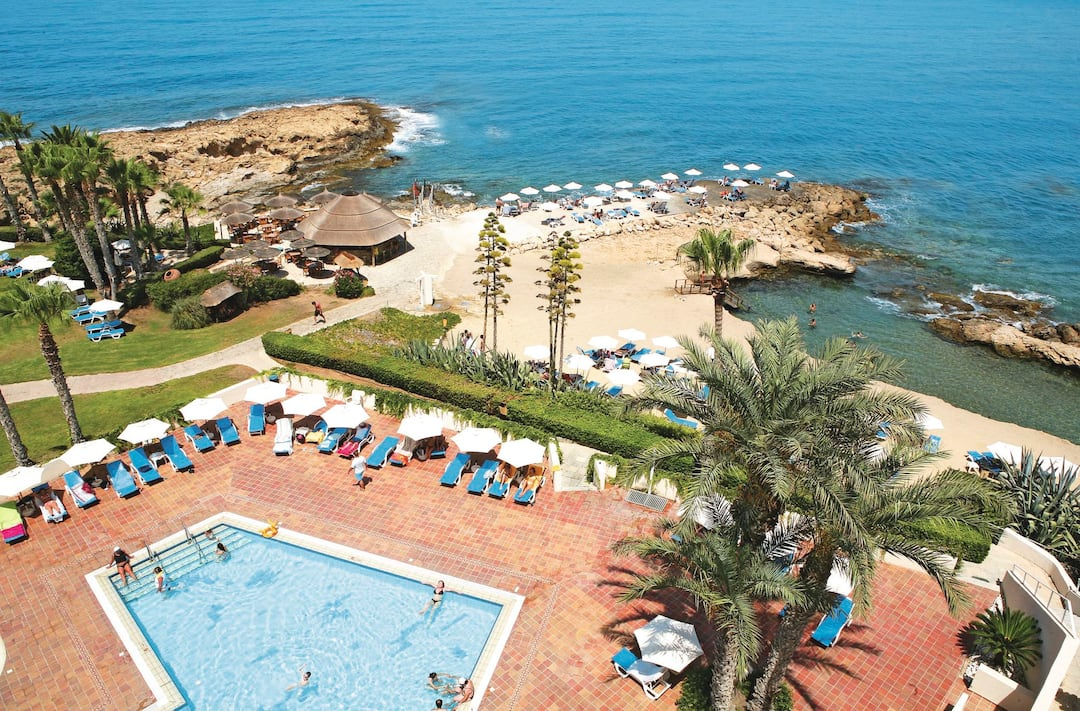Holiday to Cynthiana Beach Hotel in PAPHOS (CYPRUS) for 3 nights (BB) departing from birmingham on 28 Apr