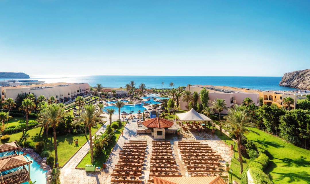 Holiday to Tui Family Life Atlantica Aegean Blue Resort in KOLYMBIA (GREECE) for 4 nights (AI) departing from gatwick on 25 Apr