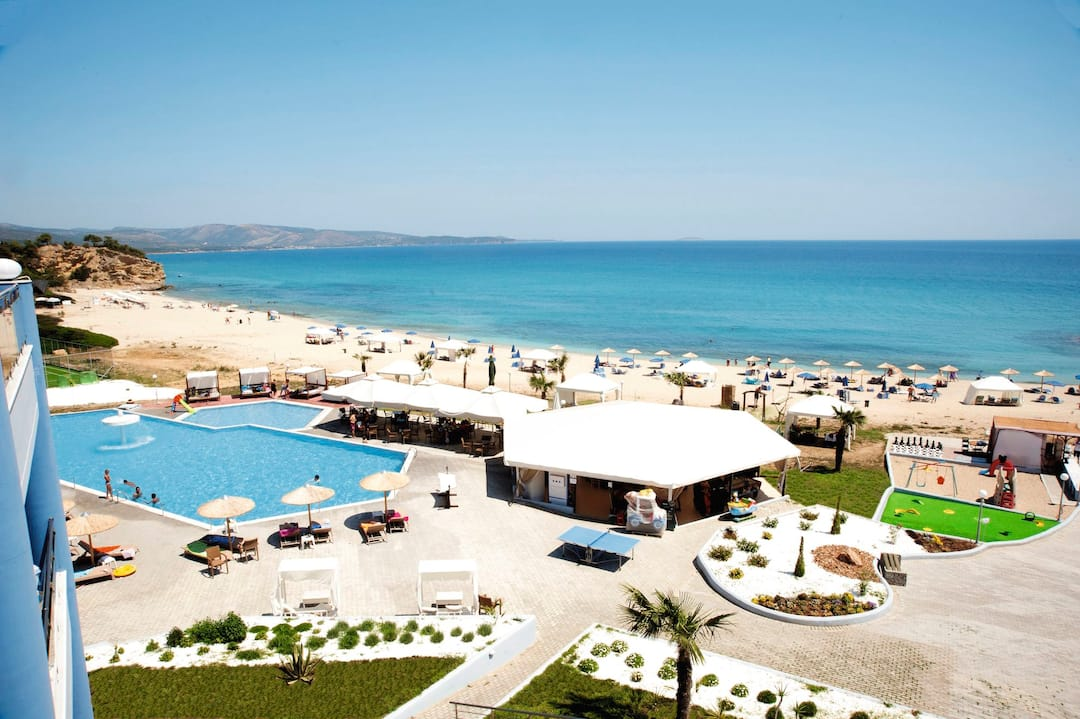 Holiday to Blue Dream Palace Hotel in TRYPITI (GREECE) for 3 nights (HB) departing from gatwick on 15 Sep