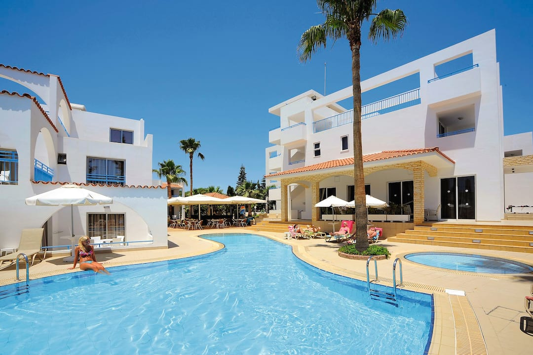 Holiday to Petrosana Hotel Apartments in AYIA NAPA (CYPRUS) for 4 nights (SC) departing from bristol on 05 May