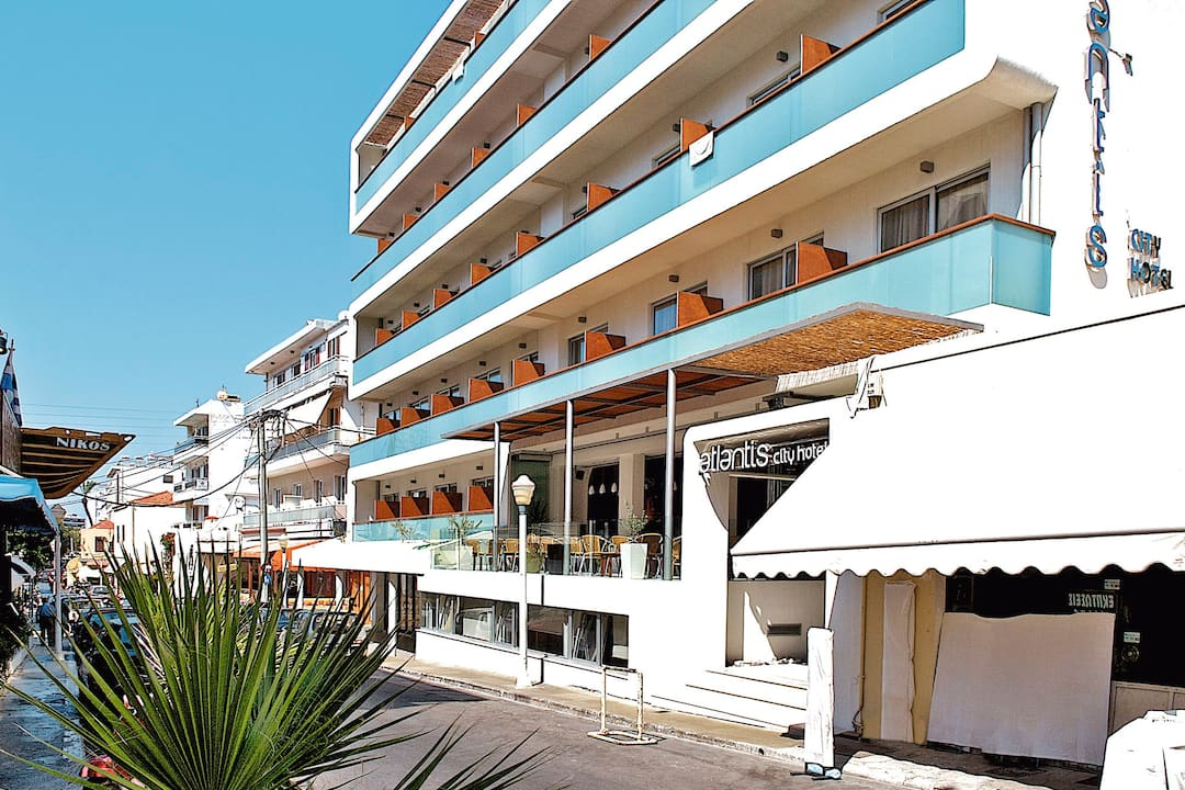 Holiday to Atlantis Hotel in RHODES TOWN (GREECE) for 4 nights (BB) departing from east midlands on 21 May