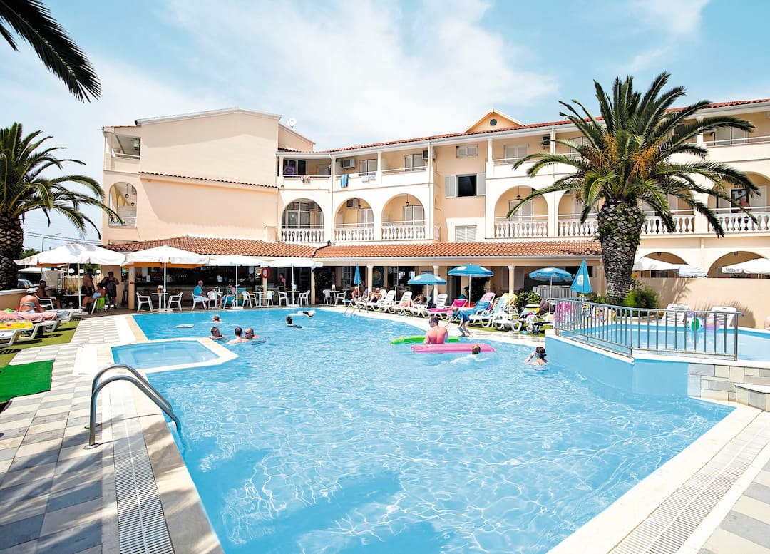 Holiday to Afrodite Hotel in RODA (GREECE) for 3 nights (BB) departing from bournemouth on 05 Jun