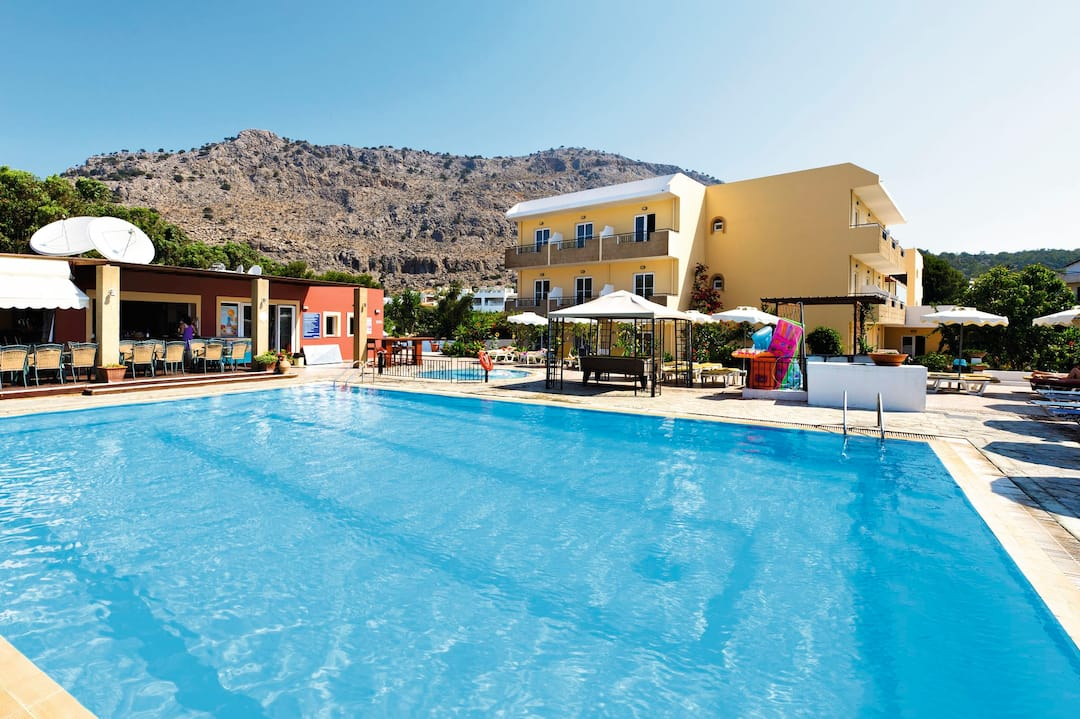 Holiday to Amfitriti Hotel And Studios in PEFKOS (GREECE) for 7 nights (BB) departing from gatwick on 08 May
