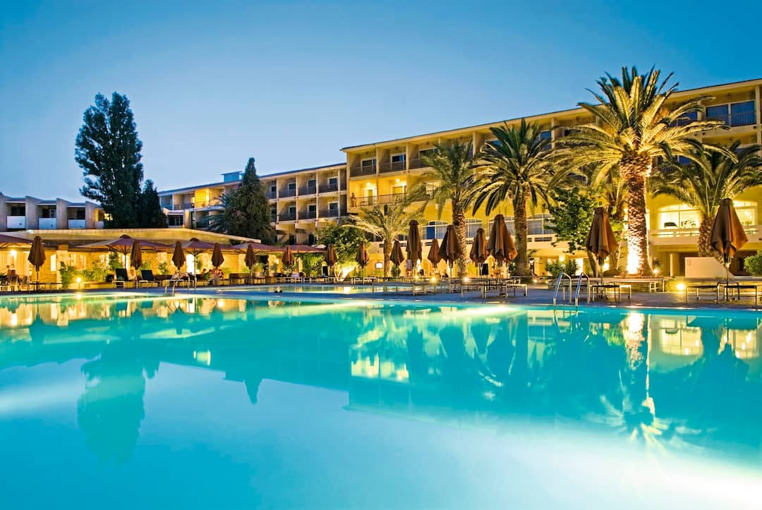 Holiday to Family Life Doryssa Seaside Resort in PYTHAGORION (GREECE) for 7 nights (BB) departing from gatwick on 30 May