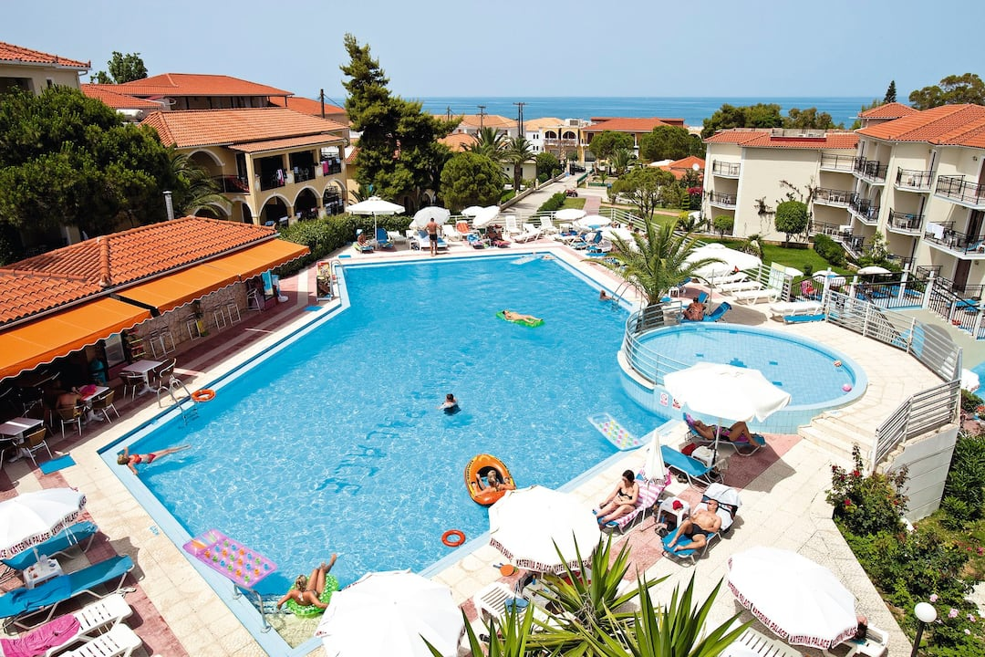Holiday to Katerina Palace Studio 1 in ARGASSI (GREECE) for 4 nights (SC) departing from gatwick on 11 Oct