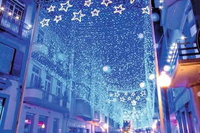 Festive Funchal Christmas Lights