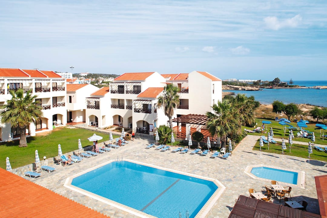 Holiday to Mimosa Beach Hotel in PROTARAS (CYPRUS) for 7 nights (HB) departing from birmingham on 05 May