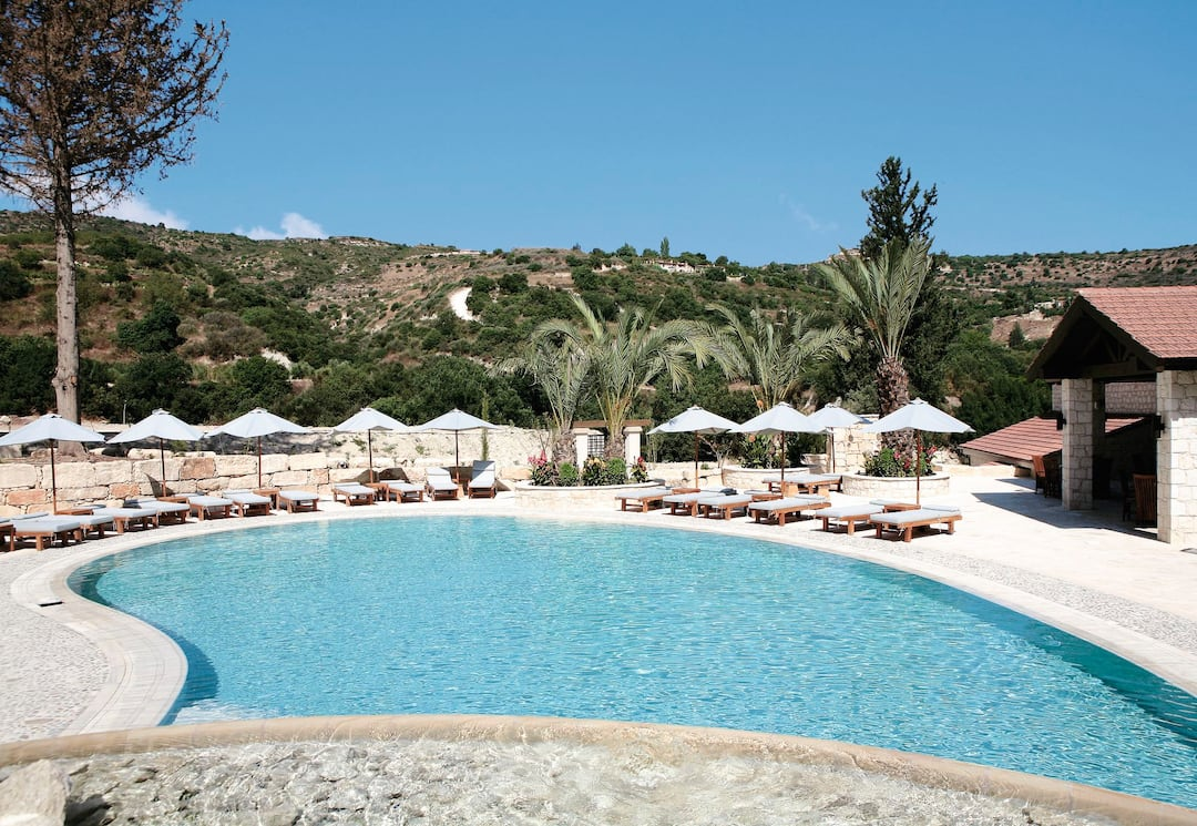 Holiday to Ayii Anargyri Hotel in MILIOU (CYPRUS) for 7 nights (HB) departing from luton on 02 Jun