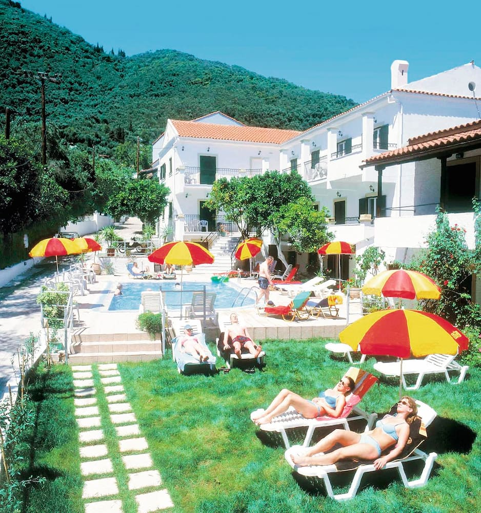 Holiday to Antigoni Apts in PYRGI (GREECE) for 4 nights (SC) departing from cardiff on 20 May