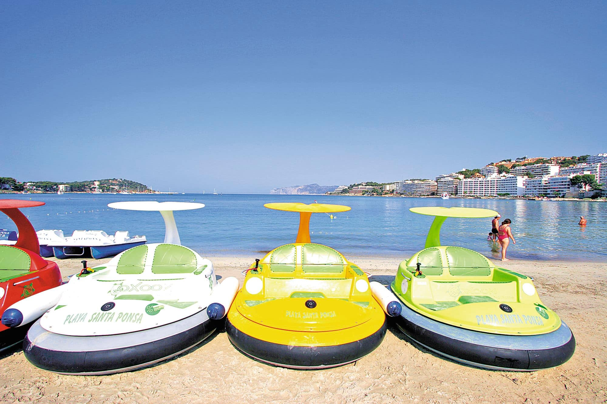 Try a new watersport on Playa Santa Ponsa Falcon now TUI Holiday