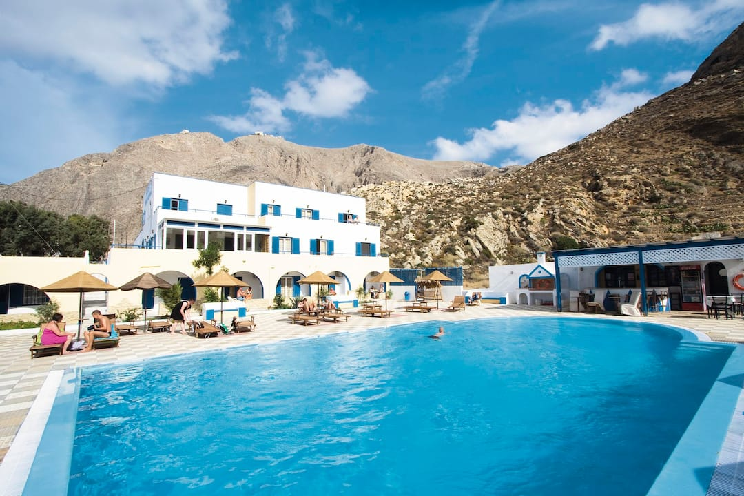 Holiday to Marianna Hotel in PERISSA (GREECE) for 14 nights (BB) departing from manchester on 07 May