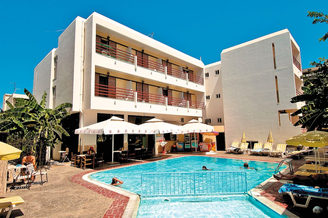 Holiday to Poseidon Hotel & Apartments in KOS TOWN (GREECE) for 3 nights (SC) departing from birmingham on 03 Jun