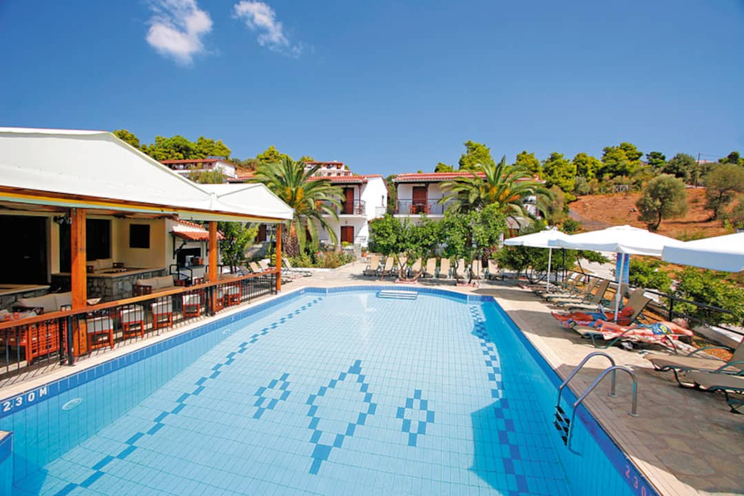 Holiday to Villa Rosa Apartments in TROULOS (GREECE) for 7 nights (SC) departing from birmingham on 03 May