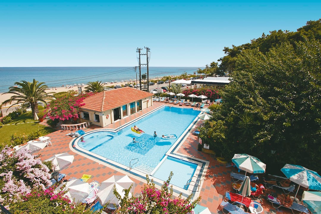 Holiday to Tara Beach Hotel in SKALA (GREECE) for 3 nights (BB) departing from birmingham on 09 May