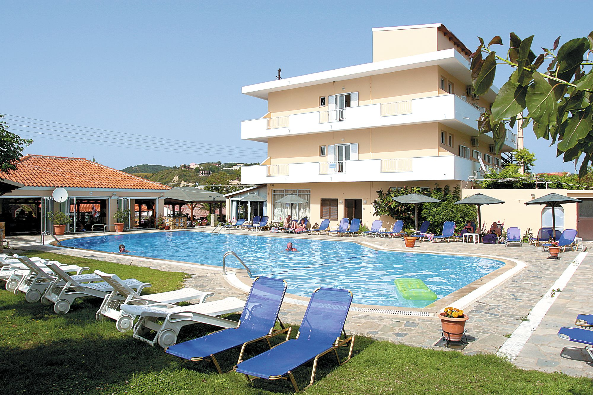 Holiday to Nafsica Hotel in SAN STEFANOS (GREECE) for 3 nights (HB) departing from bournemouth on 08 May