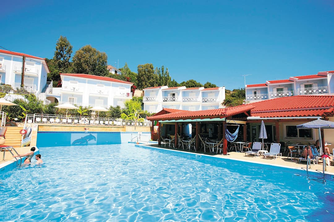 Holiday to Pelagos Bay Hotel in SKALA (GREECE) for 4 nights (BB) departing from birmingham on 05 May