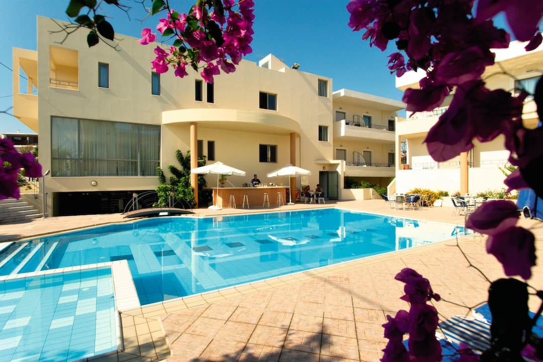 Holiday to Yakinthos Hotel in NEA KYDONIA (GREECE) for 4 nights (BB) departing from birmingham on 05 Jun