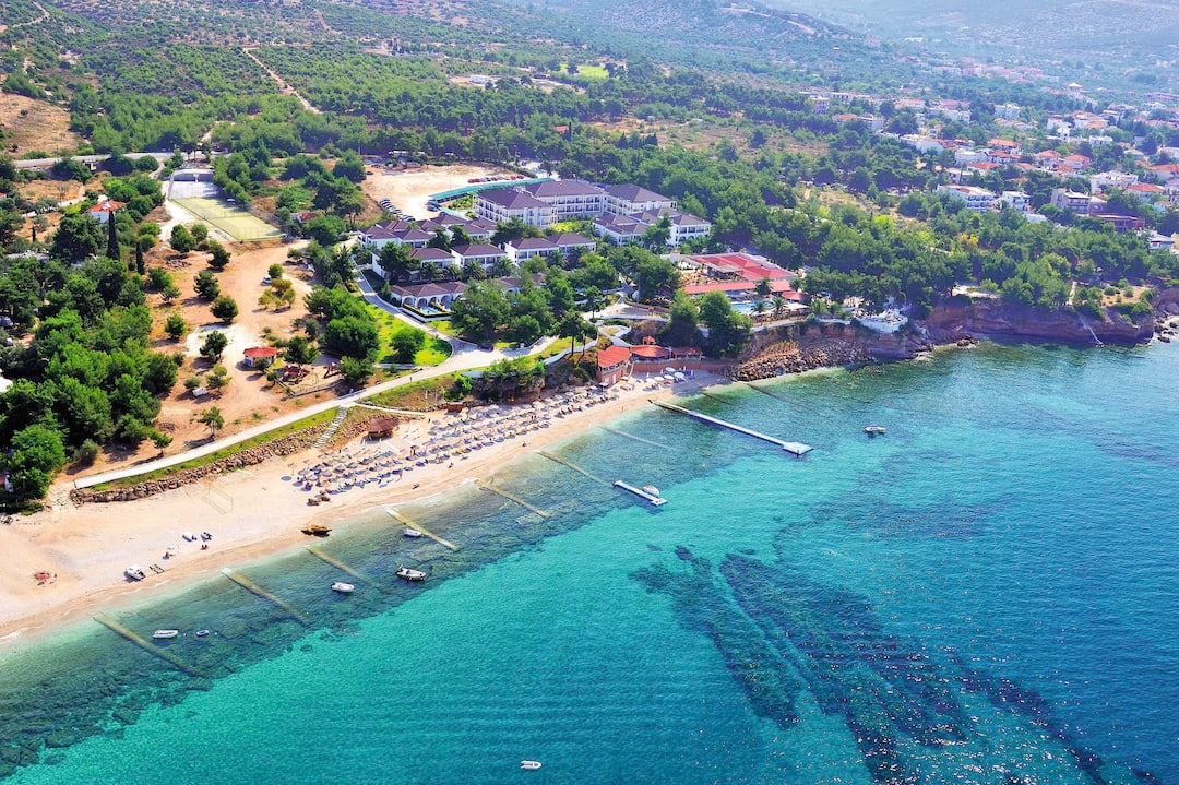 Holiday to Alexandra Beach Hotel in POTOS (GREECE) for 4 nights (HB) departing from gatwick on 03 Jun