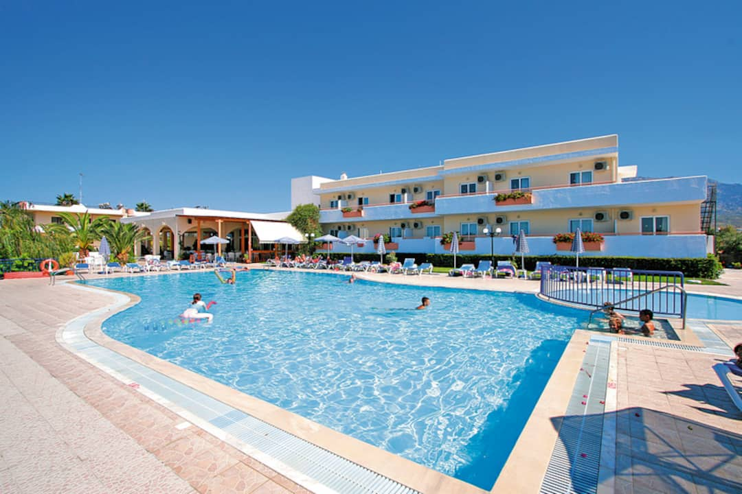 Holiday to Mayflower Apartments in TINGAKI (GREECE) for 7 nights (SC) departing from manchester on 06 May