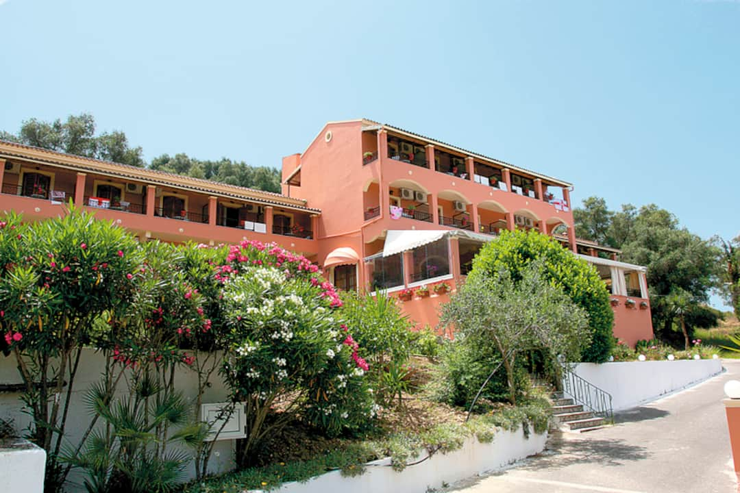 Holiday to Theo Hotel in AGHIOS GEORGIOS NORTH (GREECE) for 3 nights (BB) departing from bristol on 07 May
